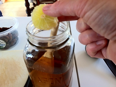 Water Kefir Basic Recipe